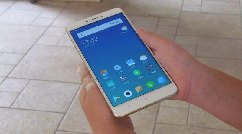 מבט מקדימה על מסך הענק של Xiaomi Mi Max 2