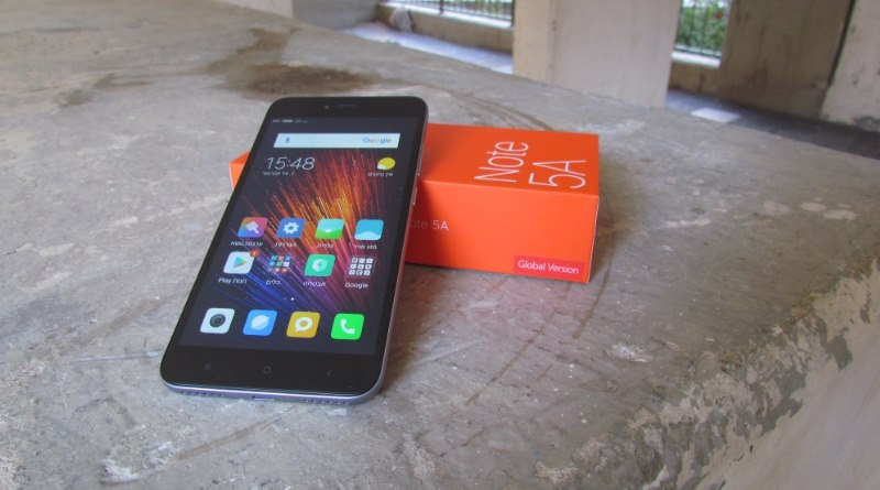 Xiaomi Redmi Note 5A שאומי רדמי נוט 5A
