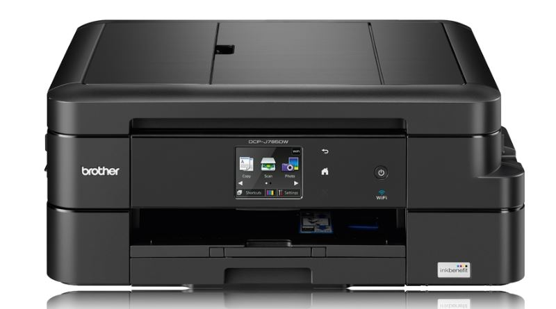 פעולת הדפסה: Brother DCP-J785DW – מדפסת הזרקת דיו אלחוטית וזולה יחסית לשימוש