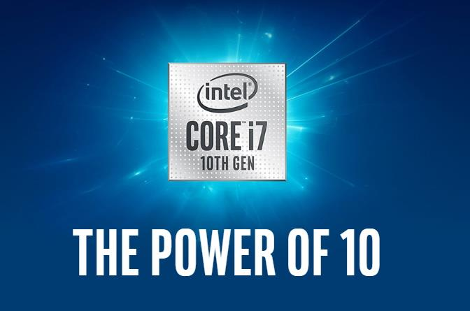 Intel 10 Gen Core symbol