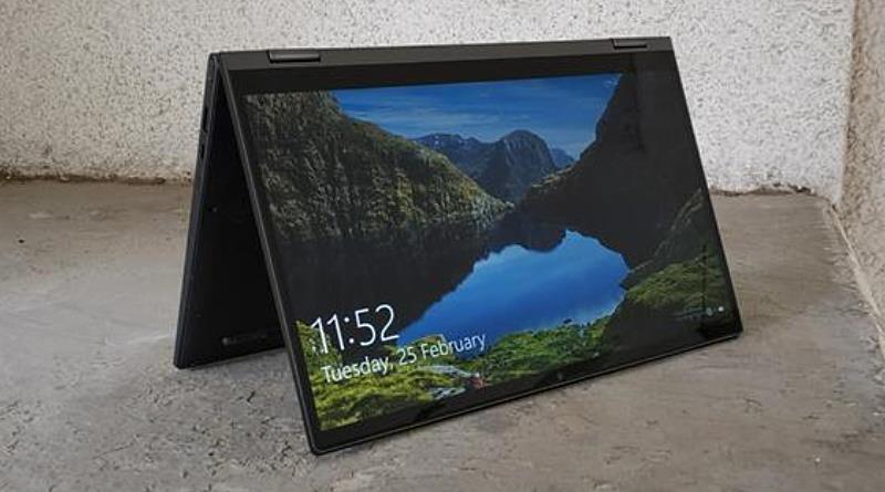 Lenovo YogaC640 Tent Mode
